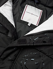 Tommy Hilfiger - U  GLOSSY SMILE AO JACKET - puffer & padded - black allover / smiley allover - 3
