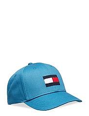 BIG FLAG CAP - SAXONY BLUE