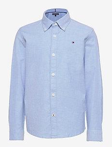 BOYS STRETCH OXFORD SHIRT L/S - skjorter - shirt blue