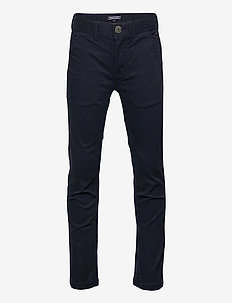 BOYS SLIM CHINO OSTW PD - trousers - sky captain