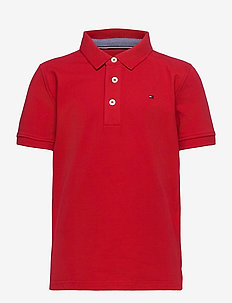 BOYS TOMMY POLO S/S - polo shirts - apple red