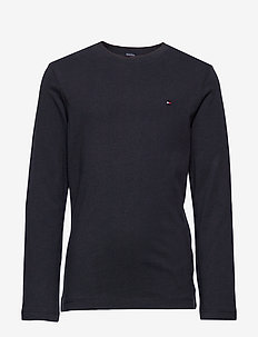 BOYS BASIC CN KNIT L - langærmede t-shirts - sky captain