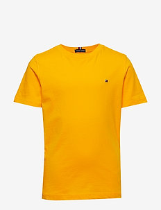 ESSENTIAL ORIGINAL CTTN TEE S/S - RADIANT YELLOW