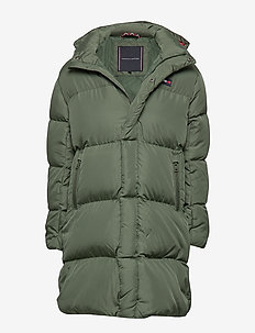 AK TJM OVERSIZE DOWN - puffer & padded - thyme