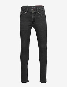 SIMON SKINNY SLDAGST - jeans - sliga dark grey stretch