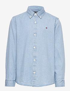 DENIM SHIRT L/S - shirts - denim light 01