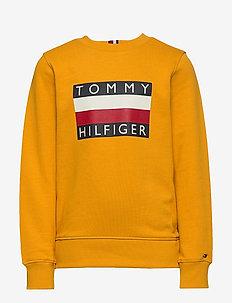 ESSENTIAL HILFIGER SWEATSHIRT - sweat-shirt - golden glow