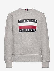 ESSENTIAL HILFIGER SWEATSHIRT - sweatshirts - grey heather