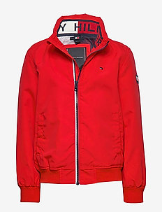 ESSENTIAL JACKET - RACING RED