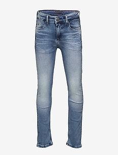 SCANTON SLIM RABDST - jeans - rapt blue destructed  stretch