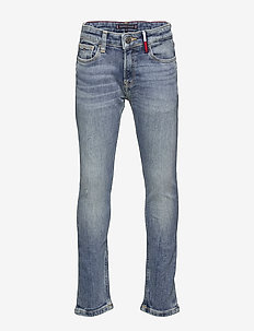 STEVE SLIM TAPERED DAZDBST - jeans - dazzle destructed blue stretch