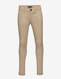ESSENTIAL SKINNY CHI - trousers - silt