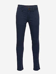 ESSENTIAL SKINNY CHI - trousers - twilight navy