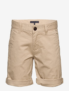 ESSENTIAL CHINO SHOR - szorty - silt