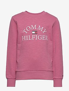 ESSENTIAL LOGO SWEAT - sweatshirts - light cerise pink