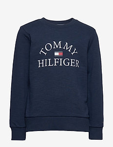 ESSENTIAL LOGO SWEAT - sweatshirts - twilight navy