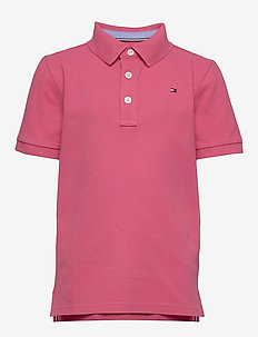 ESSENTIAL TOMMY REG POLO S/S - poloer - light cerise pink