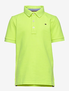 ESSENTIAL TOMMY REG POLO S/S - SAFETY YELLOW 13-0630