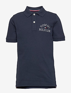 ESSENTIAL LOGO CHEST POLO S/S - poloer - twilight navy 654-860