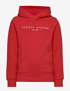 ESSENTIAL HOODIE - hoodies - deep crimson 106-880
