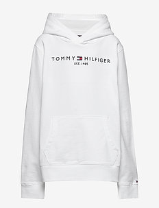 ESSENTIAL HOODIE - hoodies - white 658-170