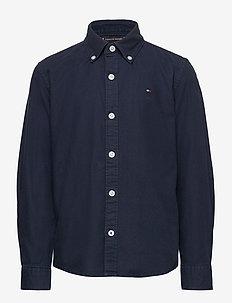 OVERDYE DOBBY SHIRT - shirts - twilight navy 654-860