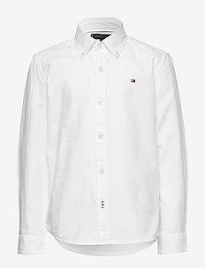 OVERDYE DOBBY SHIRT - shirts - white