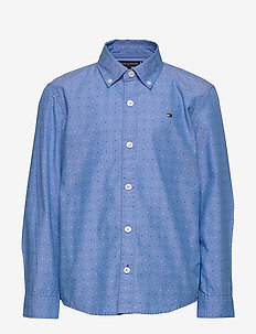 MINI PRINT HILFIGER - shirts - regatta 18-4039