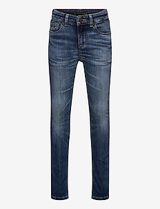 SCANTON SLIM - AUHDUSTR - jeans - auth heritage dark used stretch