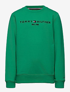 ESSENTIAL CN SWEATSHIRT - sweatshirts - cosmic green