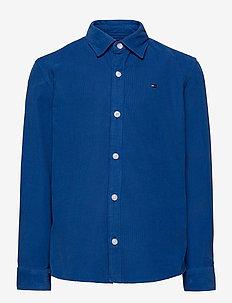 RIBCORD SHIRT L/S - skjorter - dynamic blue
