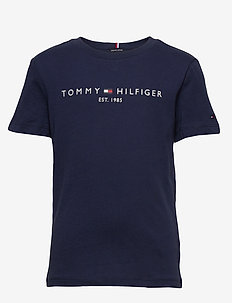 ESSENTIAL LOGO TEE S/S - short-sleeved - twilight navy