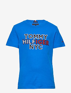 TH NYC GRAPHIC TEE S/S - short-sleeved - dynamic blue
