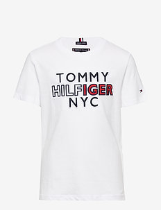 TH NYC GRAPHIC TEE S/S - short-sleeved - white