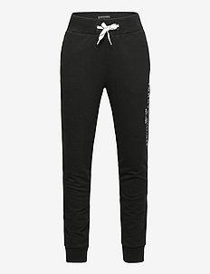 ESSENTIAL SWEATPANTS - sweatpants - black