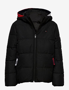 ESSENTIAL PADDED JAC - puffer & padded - black