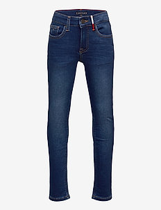 SCANTON SLIM BRUSHED - BRUBLDNM - jeans - brushedbluedenim