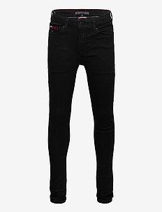 SIMON SUPER SKINNY W - jeans - waterrepellentblackstr