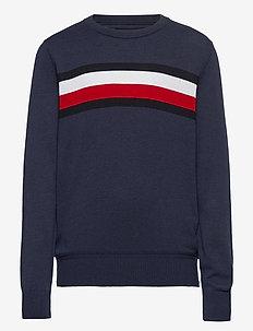 ESSENTIAL TH WARM SW - sweatshirts - twilight navy