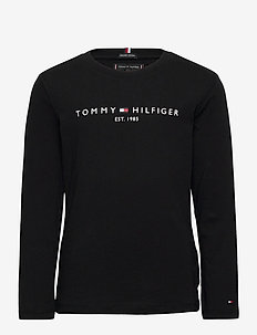 ESSENTIAL TEE L/S - manches longues - black