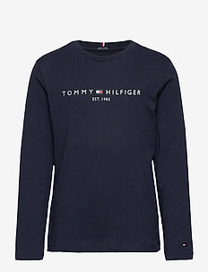 ESSENTIAL TEE L/S - manches longues - twilight navy