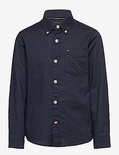 ESSENTIAL OXFORD SHI - chemises - twilight navy