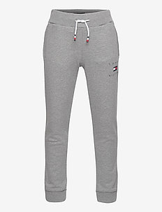 TH LOGO SWEATPANTS - sweatpants - mid grey htr