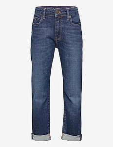 MODERN STRAIGHT - jeans - summerdkbluestretch
