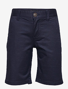 ESSENTIAL CHINO SHORT TH FLEX - shorts - twilight navy