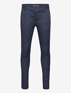 ESSENTIAL TH FLEX SKINNY CHINOS - trousers - twilight navy
