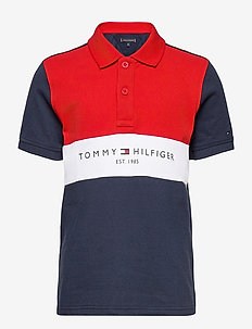 COLORBLOCK POLO S/S - polo shirts - twilight navy