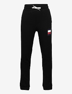 GLOBAL STRIPE SWEATPANTS - sweatpants - black
