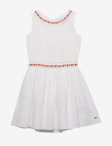 ENDEARING SUN DRESS - dresses - bright white