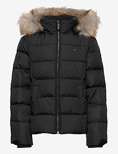 ESSENTIAL BASIC DOWN - puffer & padded - black